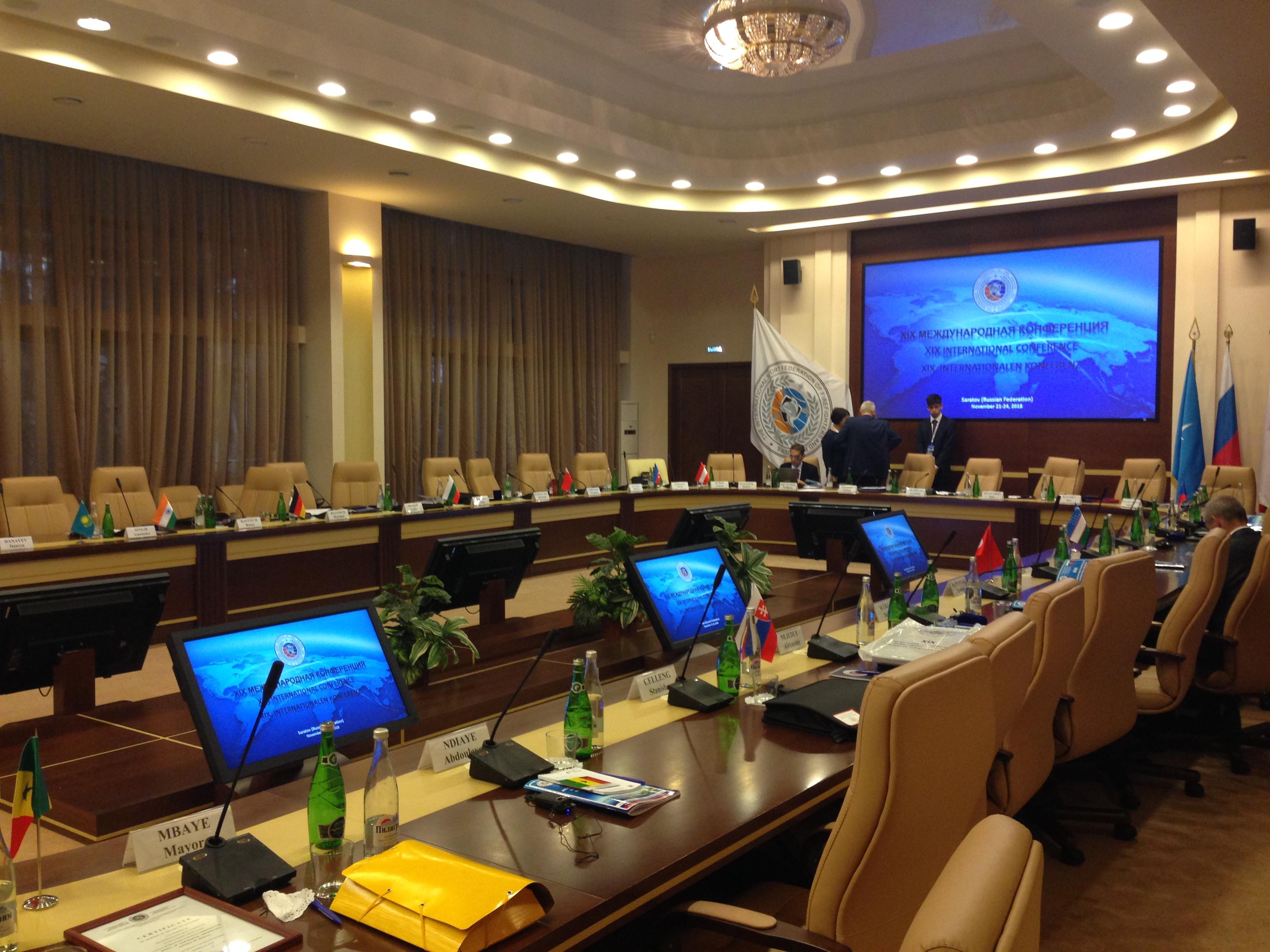 Simultaneous interpreting during negotiations